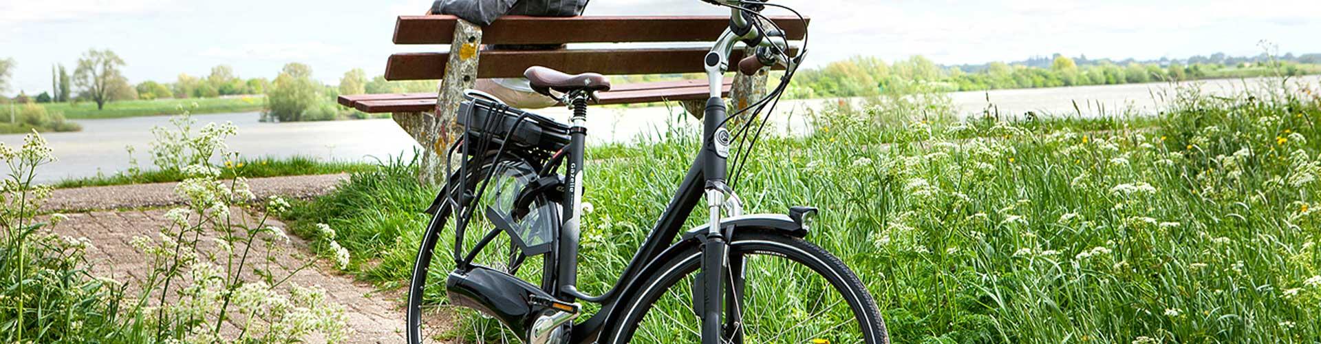 Banner elektrische fiets